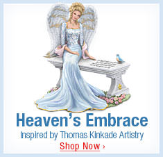 Heaven's Embrace - Inspired by Thomas Kinkade Artistry - Shop Now