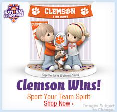 Clemson WINS! Sport Your Team Spirit - Shop Now