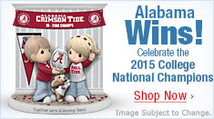 Alabama Wins! Celebrate the 2015 College National Champions - Shop Now