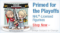 Primed for the Playoffs - NHL(R)-Licensed Figurines - Shop Now
