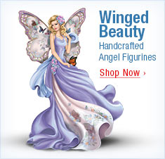 Winged Beauty - Handcrafted Angel Figurines - Shop Now