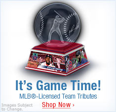 It's Game Time! MLB(R)-Licensed Team Tributes - Shop Now