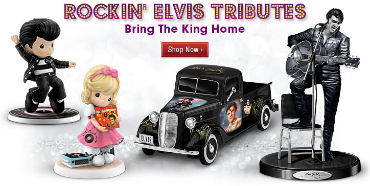 Rockin' Elvis Tributes - Bring The King Home - Shop Now