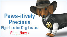 Paws-itively Precious - Figurines for Dog Lovers - Shop Now