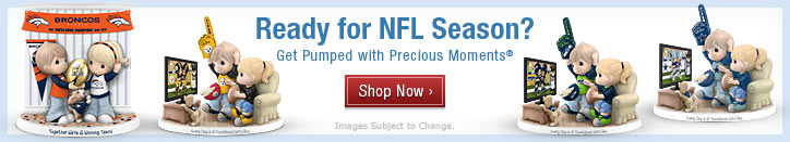 Ready for NFL Season? Get Pumped with Precious Moments(R) - Shop Now