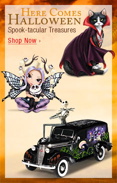 Here Comes Halloween! Spook-tacular Treasures - Shop Now
