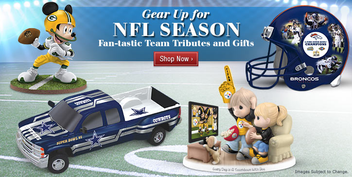 Gear Up for NFL Season - Fan-tastic Team Tributes and Gifts - Shop Now