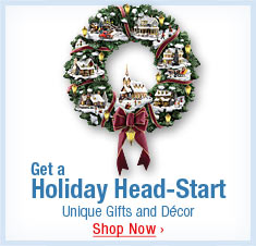 Get a Holiday Head-Start - Unique Gifts and Decor - Shop Now