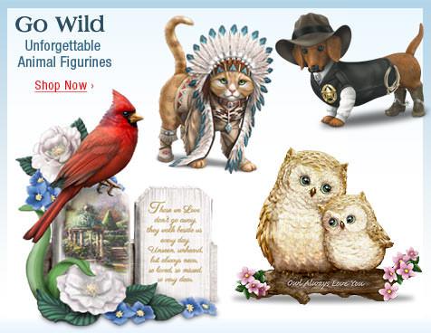 Go Wild - Unforgettable Animal Figurines - Shop Now