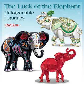 The Luck of the Elephant - Unforgettable Figurines - Shop Now