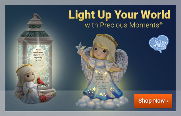 Light Up Your World with Precious Moments® - Shop Now