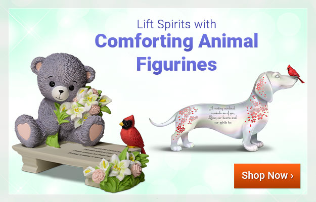 Lift Spirits with Comforting Animal Figurines - Shop Now