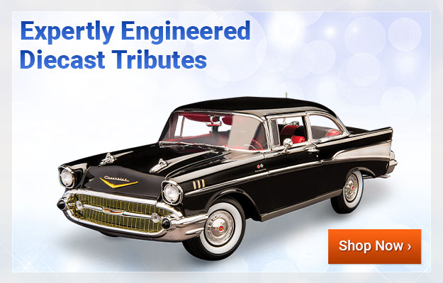 Expertly Engineered Diecast Tributes - Shop Now