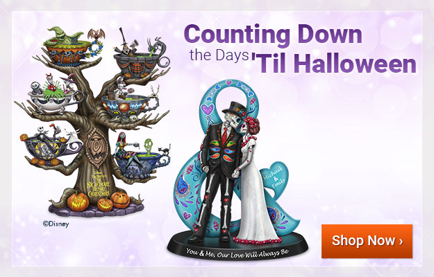 Counting Down the Days 'Til Halloween - Shop Now