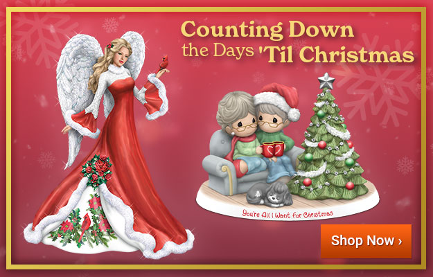 Counting Down the Days 'Til Christmas - Shop Now