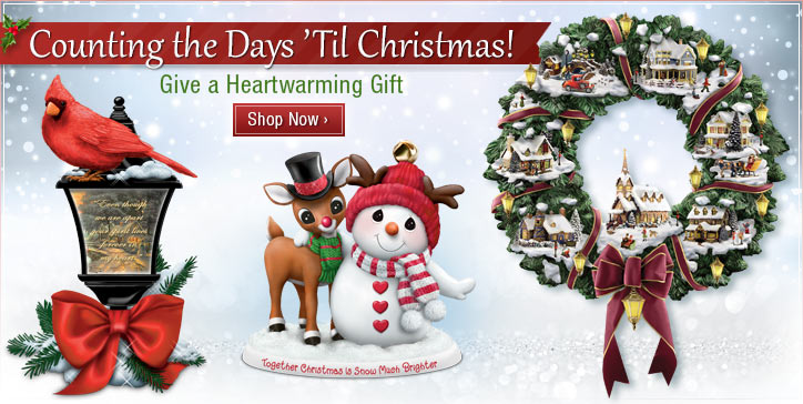 Couting Down the Days 'Til Christmas - Give a Heartwarming Gift - Shop Now