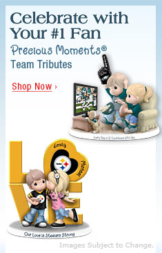 Celebrate with Your #1 Fan - Precious Moments® Team Tributes - Shop Now