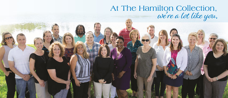 At The Hamilton Collection, We're a Lot Like You