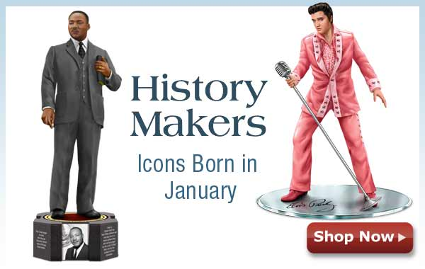 History Makers - Icons Born in January - Shop Now