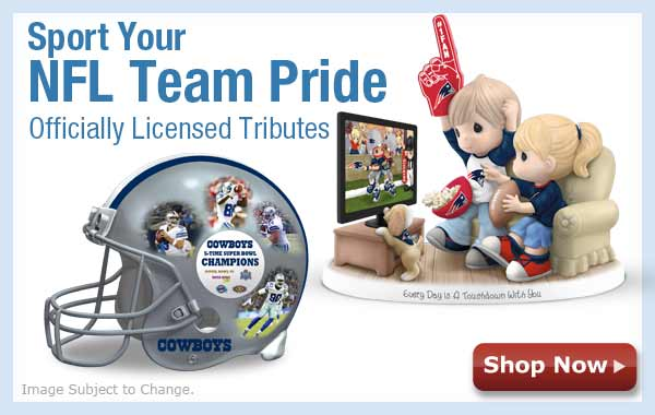 Sport Your NFL Pride! Officially Licensed Team Tributes - Shop Now