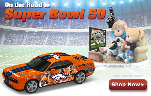 On the Road to Super Bowl - Shop Now