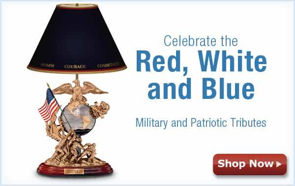 Celebrate the Red, White and Blue - Military and Patriotic Tributes - Shop Now