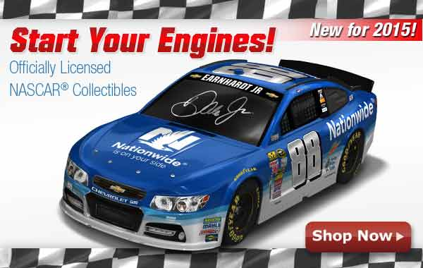 Start Your Engines! Officially Licensed NASCAR(R) Collectibles - Shop Now
