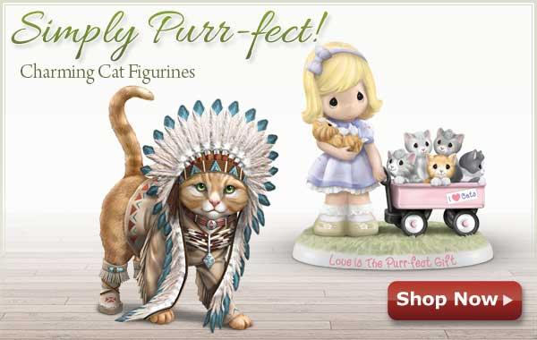 Simply Purr-fect - Charming Cat Figurines - Shop Now