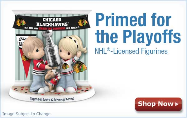 Primed for the Playoffs - NHL(R)-Licensed Figruines - Shop Now