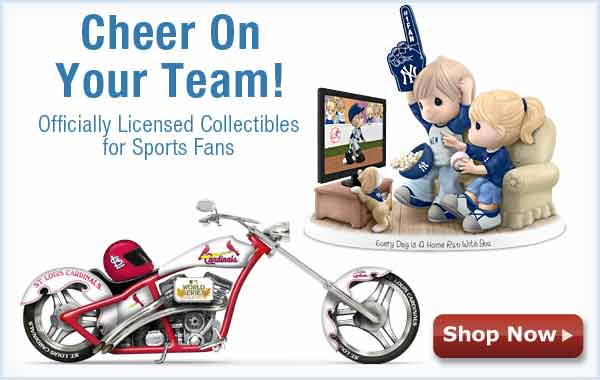 Cheer on Your Team! Officially Licensed Sports Collectibles - Shop Now