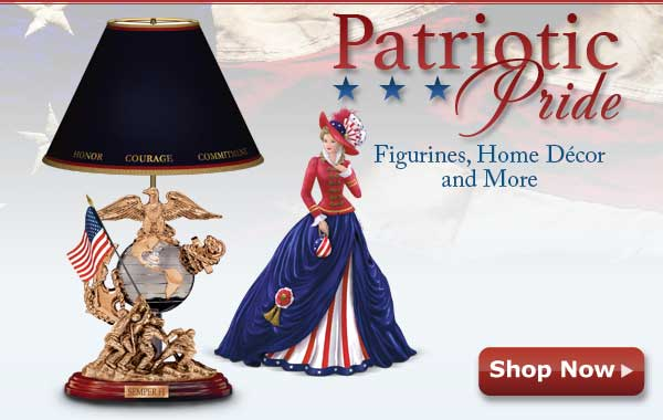 Patriotic Pride - Figurines, Home Decor and More - Shop Now