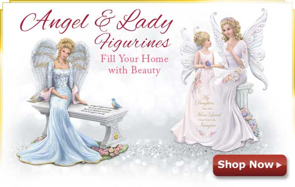 Angel and Lady Figurines - Fill Your Home with Beauty - Shop Now