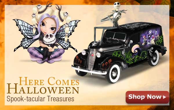 Here Comes Halloween! Spook-tacular Treasures - Shop Now