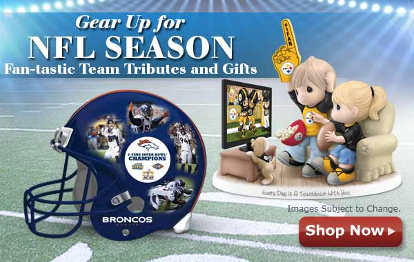 Gear Up for NFL Season Team Tributes and Gifts - Shop Now