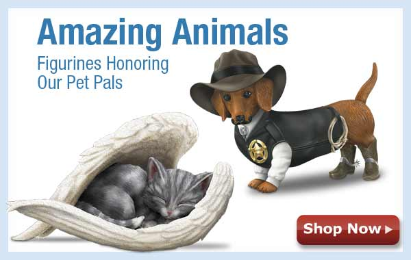 Amazing Animals Figurines Honoring Our Pet Pals - Shop Now