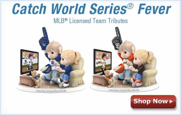 Catch World Series(R) Fever - MLB(R) Licesned Team Tributes - Shop Now