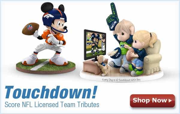 Touchdown! Score NFL Licensed Team Tributes- Shop Now