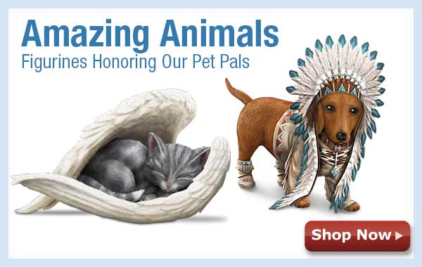 Amazing Animals - Figurines Honoring Our Pet Pals - Shop Now