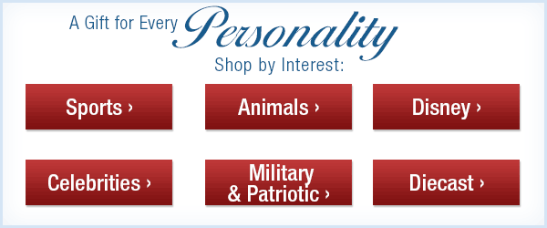 A Gift for Every Personality - Shop by Interest: