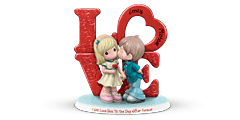 'Love You 'Til The Day After Forever Personalized Figurine